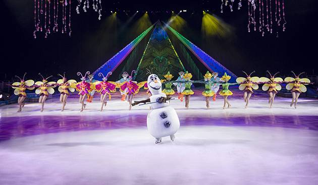 Olaf the Snowman from Disney on Ice presents Frozen | Image: Disney/Tim Parnell