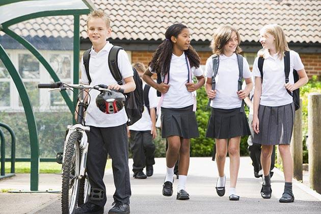 Cycling to school – or any kind of active travel – is good for children's health and education | Image: Shutterstock